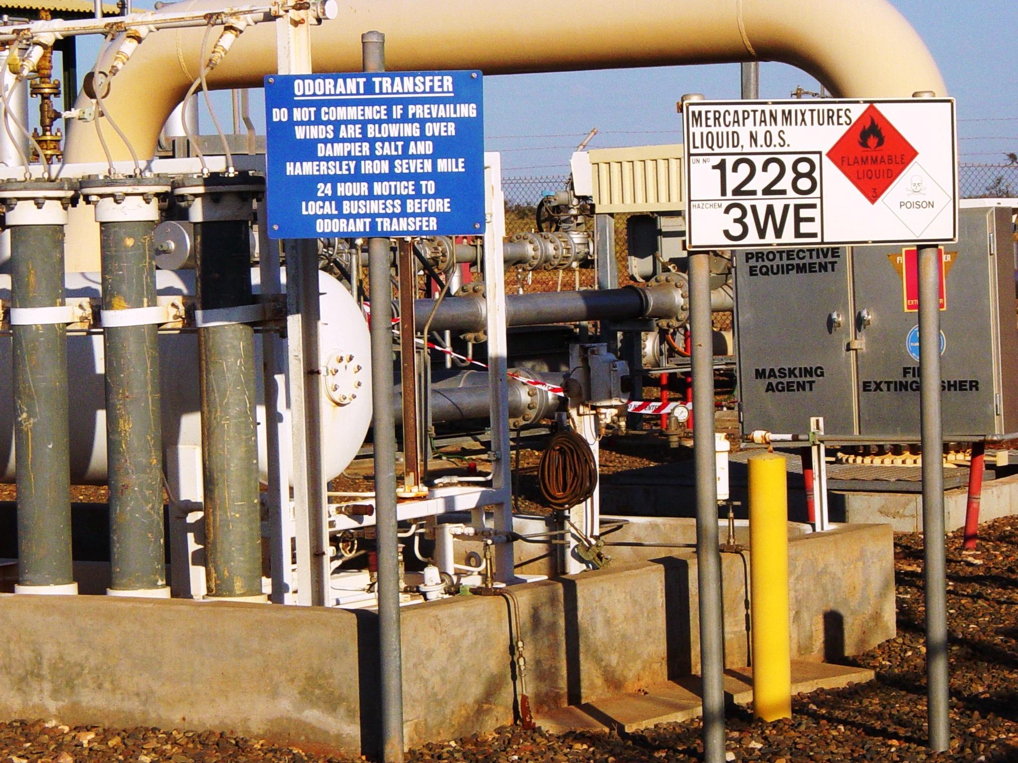 energy currencies energy british columbia natural gas pipeline odorant