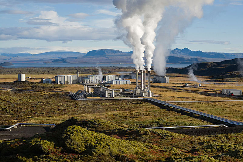 Iceland Power Station