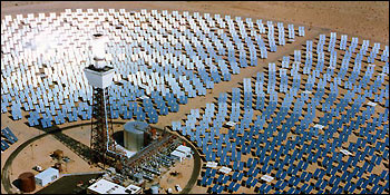 Solar Power Plant Heliostat